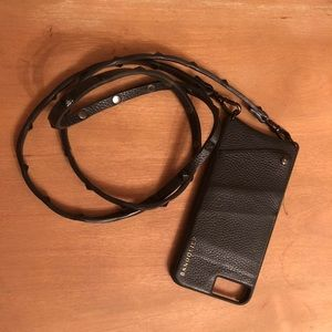 Bandolier wallet iphone case + strap for 7+